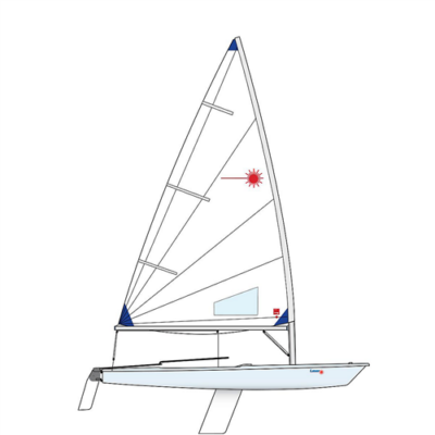 LASER RACE RADIAL hajó
