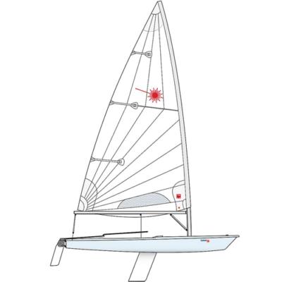LASER RACE STANDARD hajó