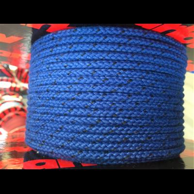 MARLOW 8PLT MATT PES BLUE 6mm