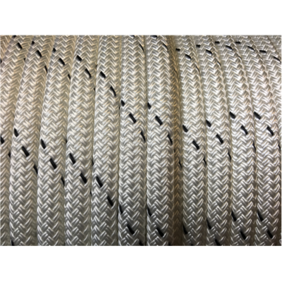 MARLOW D/BRAID PES 12mm WHITE