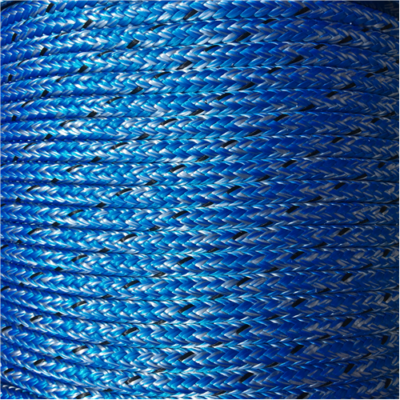 MARLOW D/BRAID PES 6mm MARBLE BLUE