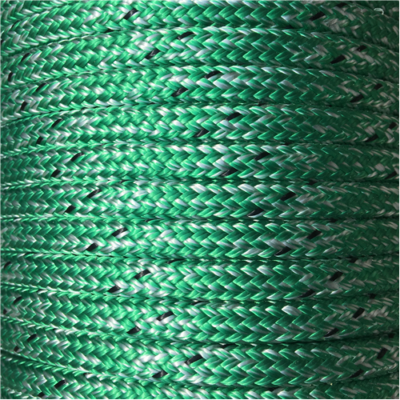 MARLOW D/BRAID PES 10mm MARBLE GREEN