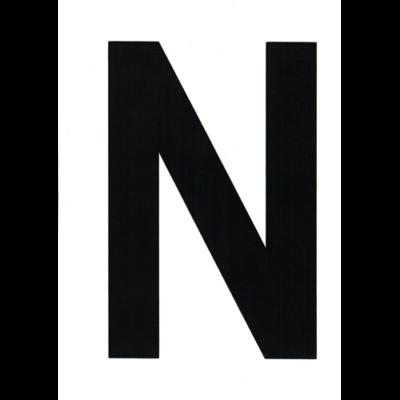 "VITORLASZÁM 235 mm FEKETE ""N"""