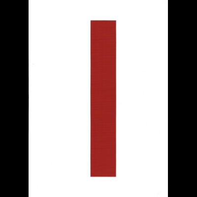 VITORLASZÁM 300mm 1 piros