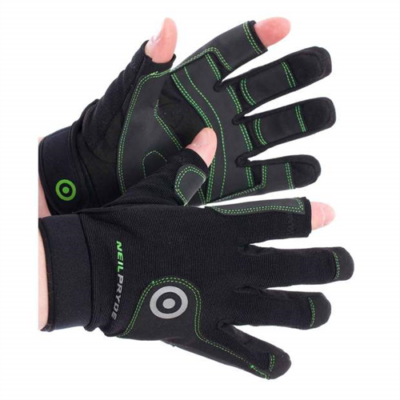 NEIL PRYDE REGATTA GLOVE FULL FINGER - BLACK - JL