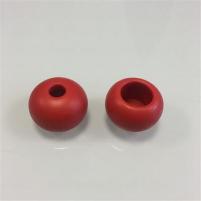 Műanyag golyó OD:44mm ID12mm Piros